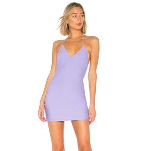by the way. Evie T Strap Mini Dress in Purple